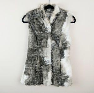 Cabi Aspen Faux Fur Vest